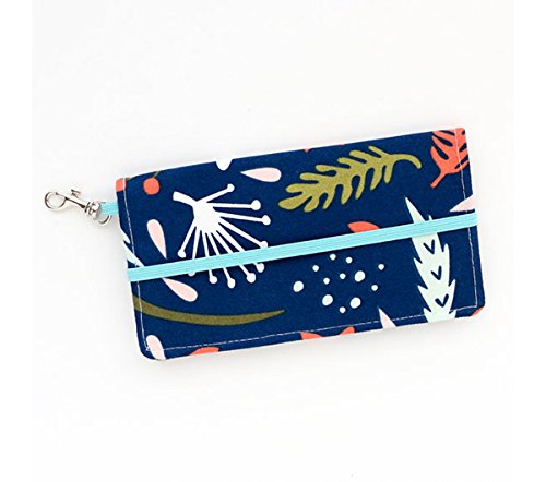 kailo-chic-medium-cell-phone-wallet-navy-fall-floral