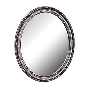 Amazon.com: Zenith PMV2532BB, Oval Mirror Medicine Cabinet ...