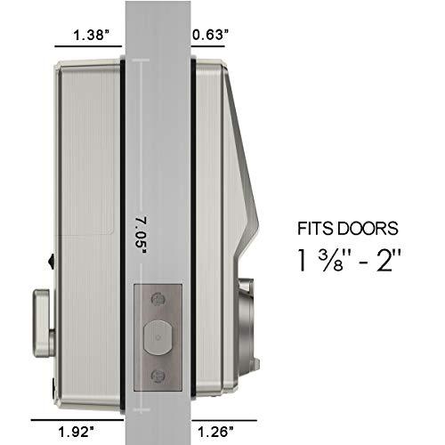 lockly bluetooth keyless entry door smart lock pgd728 advanced rh keycodedoorlocks com