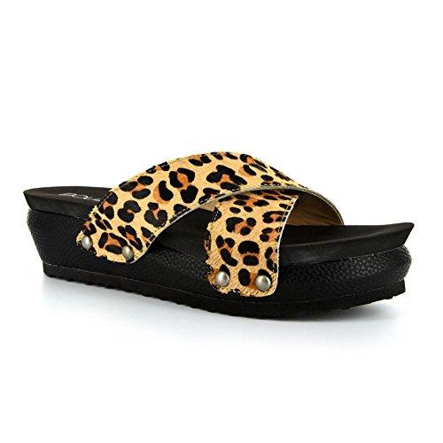 Corkys Women's Hazel Leopard 8 M