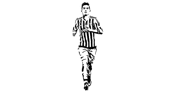 yiyitop DIY Wallpaper fútbol Palyer Dybala Pegatinas Deportes ...