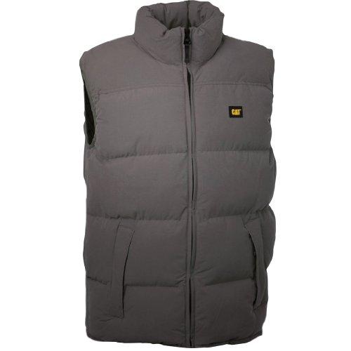C430 XXL Olive Olive XL Caterpillar Vest Jacket Quilted Small Medium Mens Large 4v5qOwRw