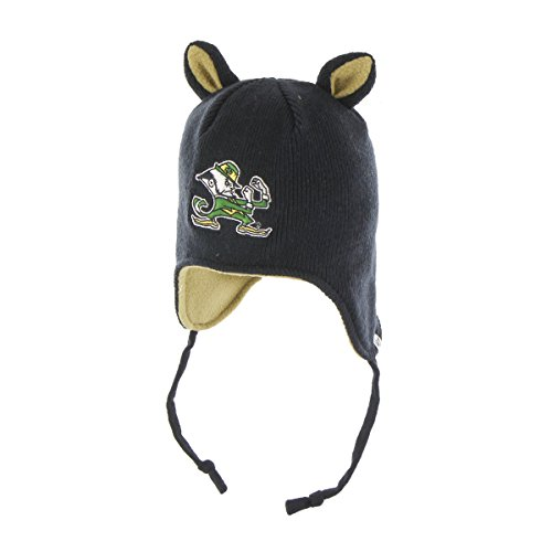 NCAA Notre Dame Fighting Irish Toddler Little Monster Knit Hat, One Size, Navy