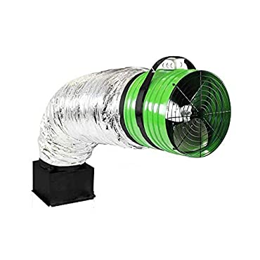 QuietCool QC ES-7000 6878 CFM House Fan