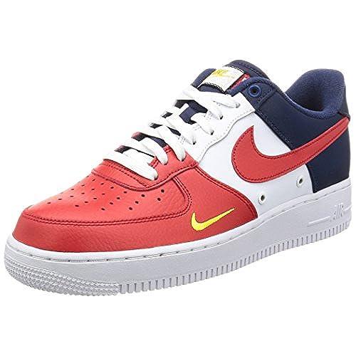 Nike Air Force 1 07 LV8 Men's Shoes University RedUniversite Rogue 823511 601