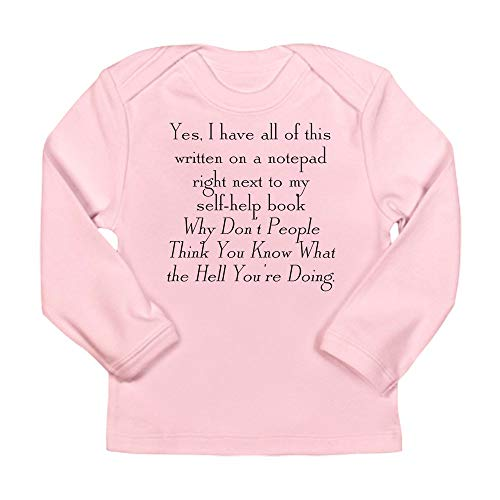 CafePress Notepad Long Sleeve Infant T-Shirt