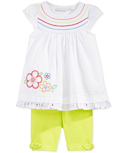 First Impressions Baby Girls Embroidered Tunic & Bermuda Shorts Set (12 Months)