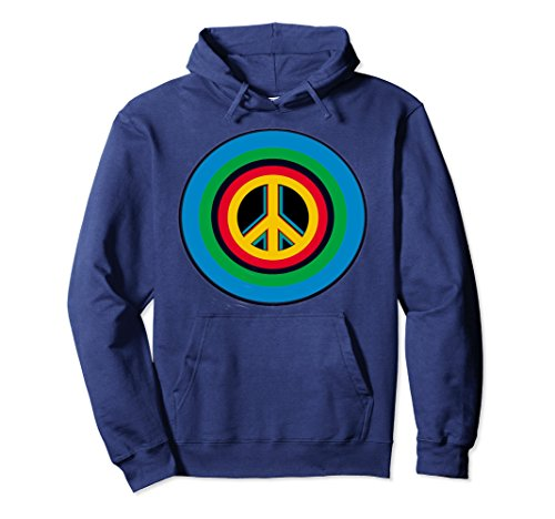 Peace Sign Kids Sweatshirt - 8