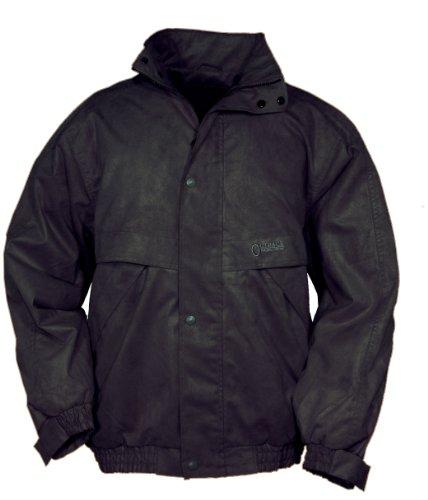 Outback Trading Men's Rambler Jacket - Black (XL) - Black Microsuede Jacket