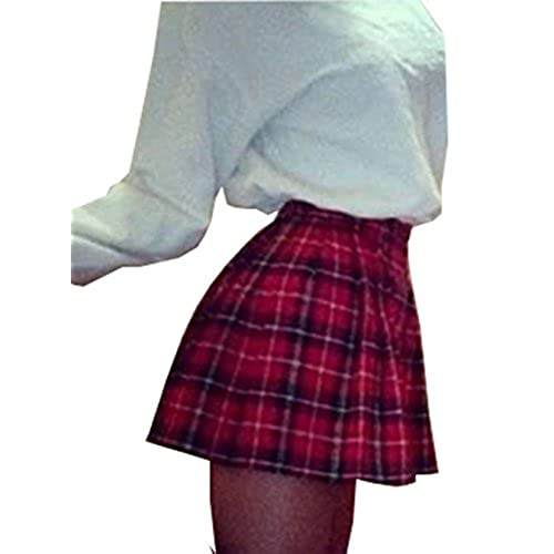 Plaid skirts for women