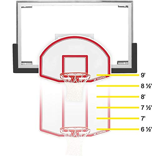 Bison, Inc. 6-in-1 Easy Up Youth Mini Goal, White