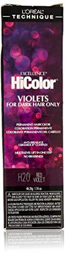 L'oreal Paris Excellence Hicolor Permanent Hair Color, Red Violet