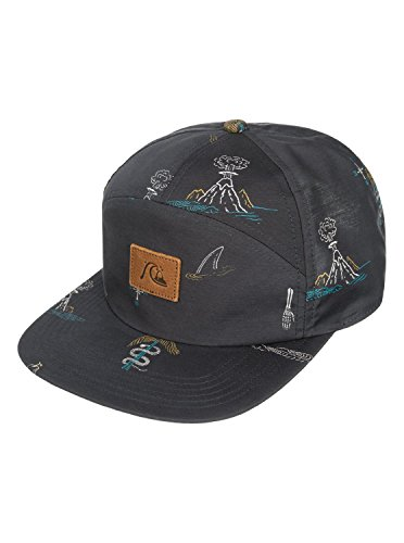 Quiksilver Men's Bocker Snapback Hat, Dark Shadow, One - Visor Quicksilver