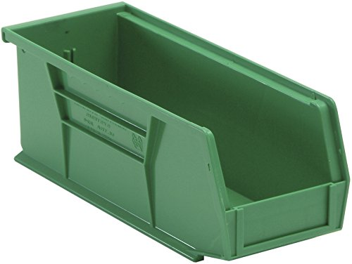 Quantum QUS224GN Green Ultra Stack and Hang Bin, 10-7/8