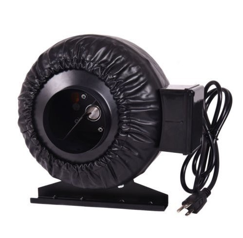USA Premium Store Strong CFM 4'' Inch Inline Fan Hydroponics Exhaust Fan Duct Cooling Fan