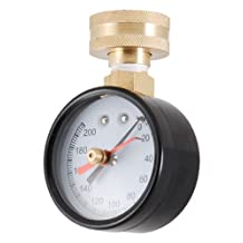 LDR 020 9645 3/4-Inch Pressure Gauge