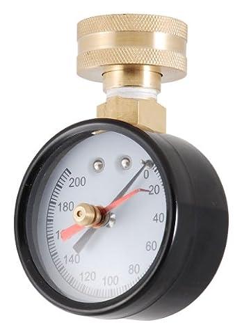 LDR 020 9645 Pressure Gauge, 3/4-Inch IPS, 200 lb. Pressure - Ips Hose