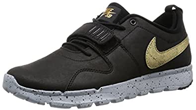 Nike Sb Trainerendor Black And Gold