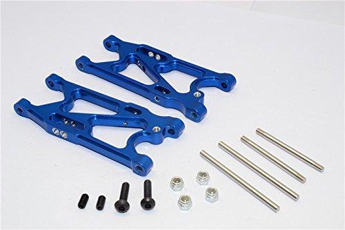 Team Losi Mini 8ight Upgrade Parts Aluminum Rear Suspension Arm - 1Pr Set Blue ()
