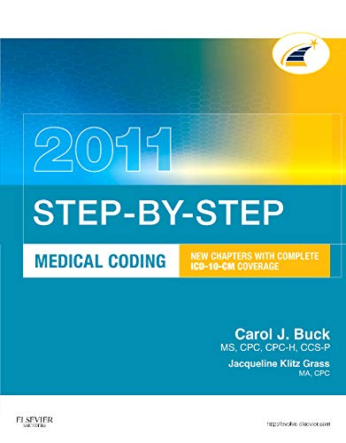 Step-by-Step Medical Coding 2011 Edition