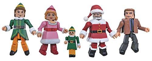 Diamond Select Toys Elf Movie Minimates Box Set