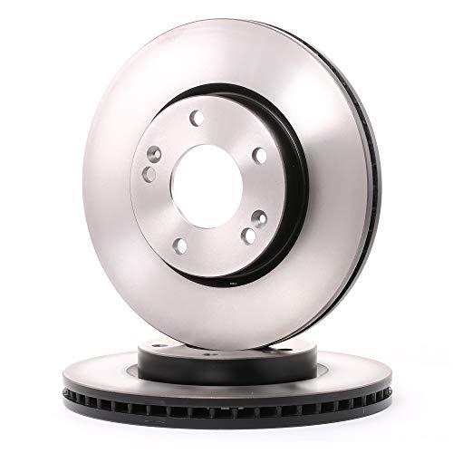 Genuine TRW Vented Brake Discs - Part Number DF4283: