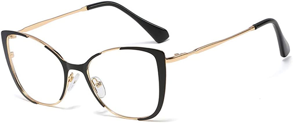 Mode Brillen Lesebrillen Dekor Brillengestell Q19090521 qiansu UV400 Transparente Linse Brillen