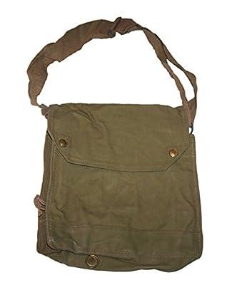 Gas Mask Model: Genuine Original 1942 Mk VII Gas Mask Raider Bag khaki in color by TexasMarket :: Gas Mask Bag :: Army Gas Masks :: Best Gas Mask
