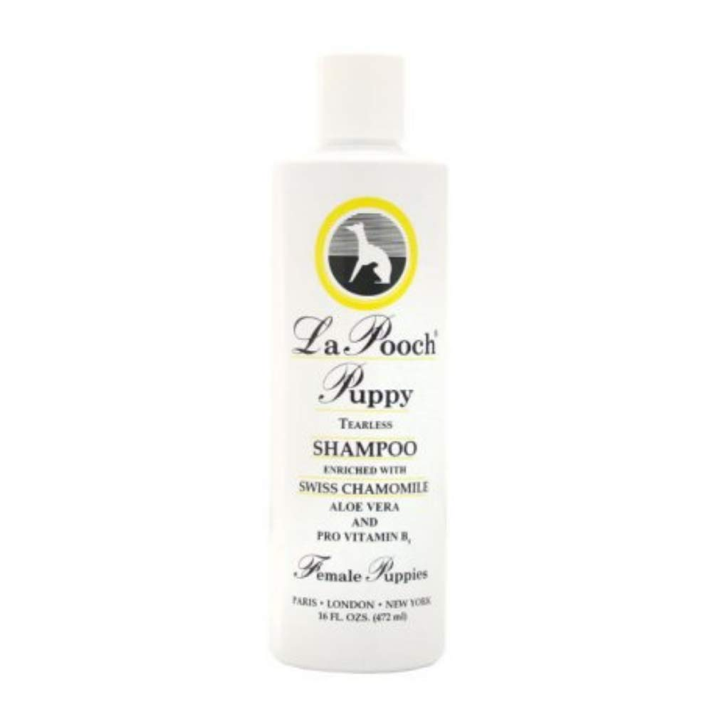 Les Pooch Female Puppy Tearless Shampoo / 16 oz Bottle- Dog or Pet Shampoo