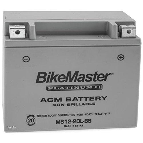 バイクマスター BikeMaster AGM バッテリー YTX20L-BS互換 780726 MS12-20L-BS B01MRLQCDW