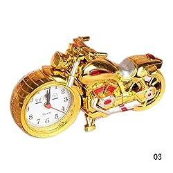 Fashion Unique Motorcycle Shape Alarm Clock