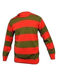 GirlzWalk Men's Long Sleeve Stripe Print Halloween Jumper S-XXXL
