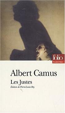 Les justes. par Camus