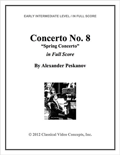 Spring Concerto (Full Orchestra Score and Set of (Alexander Sheet Set)