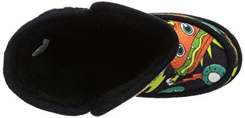 Pugno Di Ferro Womens Black Killer Munchies Scarpa Scarpa Scarpe