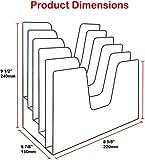 Acrimet Incline Desk File Sorter Step 5 Sections