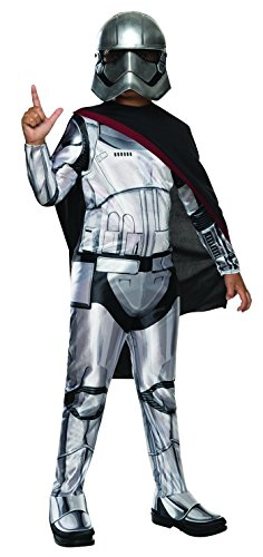 Original Ideas For Halloween Costumes (Star Wars: The Force Awakens Child's Captain Phasma Costume, Small)
