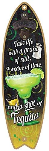 (sjt41344) Margarita – tomar la vida con un grano de sal, un cuña
