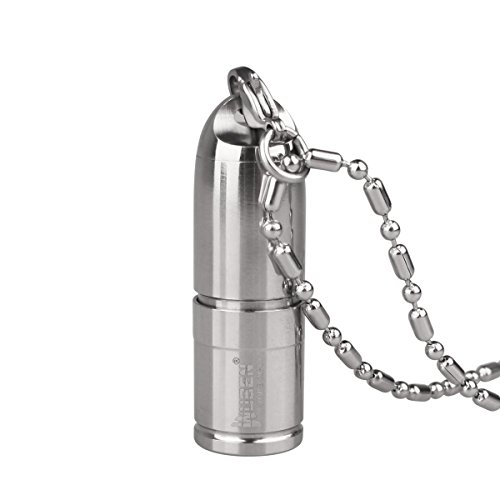 WUBEN,Keychain Flashlight Portable Stainless Steel Waterp...
