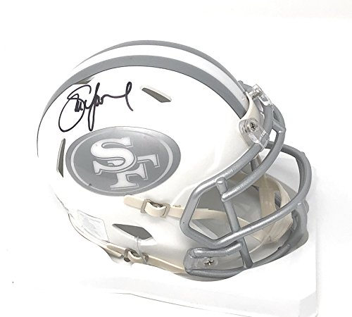 - Steve Young San Francisco 49ers Signed Autograph Ice Mini Helmet S Young GTSM Player Hologram