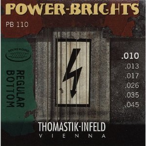 r Brights Medium Light Guitar Strings ()