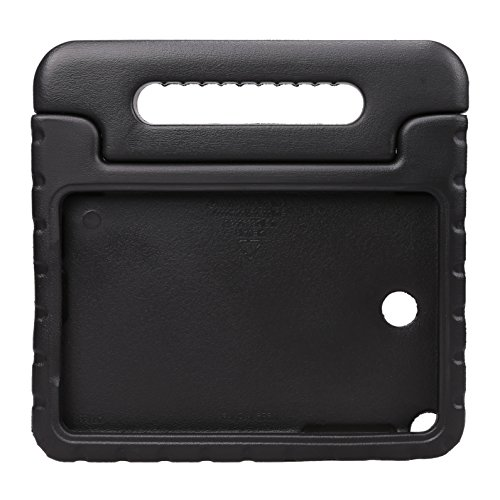 NEWSTYLE Samsung Galaxy Tab A 8.0 Shockproof Case Light Weight Kids Case Super Protection Cover Handle Stand Case for Kids Children For Samsung Galaxy Tab A 8.0-inch SM-T350 - Black Color