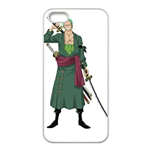 Ozdq iPhone 4 4s Cell Phone Case White Zoro