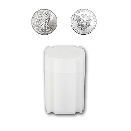 CoinSafe Silver Eagle Tube - Each Tube Holds 20ea 40mm 1-Oz Silver American Eagle ASE Coins