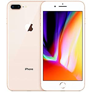 Apple iPhone 8 Plus, 64GB, Gold – Fully Unlocked (Renewed)