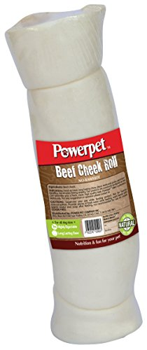 Powerpet: Beef Cheek Rolls – Natural Dog Chews – Helps Improve Dental Hygiene – 100% Natural & Highly Digestible – High…