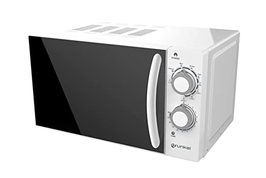 Grunkel - Microondas con grill blanco de 20 litros de ...