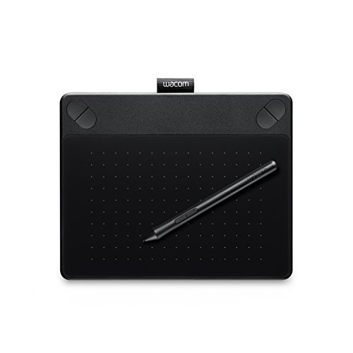 Wacom Intuos Art Pen&Touch Small Tablet CTH-490 Black International Version (No Warranty)
