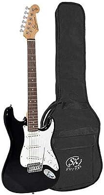 SX Guitars SX ED1-BK · Guitarra eléctrica: Amazon.es: Instrumentos ...