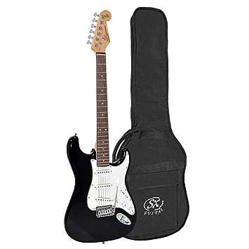 SX Guitars SX ED1-BK · Guitarra eléctrica: Amazon.es: Instrumentos musicales